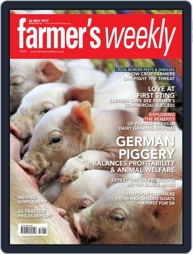 Farmer's Weekly (Digital) May 26th, 2017 Issue Cover