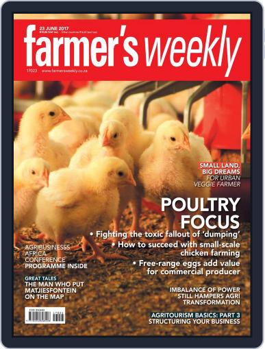 Farmer's Weekly June 23rd, 2017 Digital Back Issue Cover
