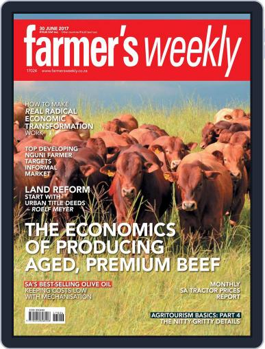 Farmer's Weekly (Digital) June 30th, 2017 Issue Cover