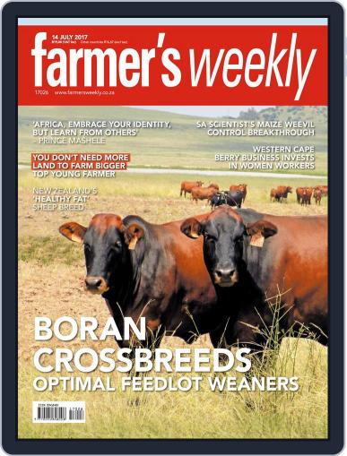 Farmer's Weekly (Digital) July 14th, 2017 Issue Cover