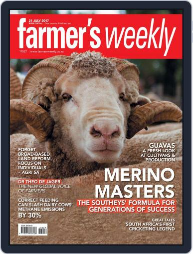 Farmer's Weekly July 21st, 2017 Digital Back Issue Cover