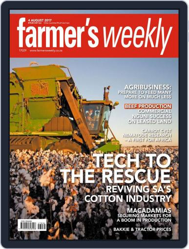 Farmer's Weekly (Digital) August 4th, 2017 Issue Cover