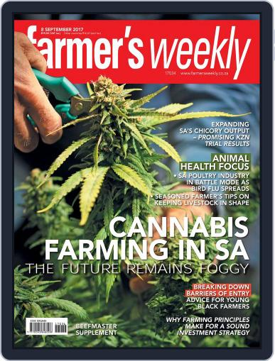 Farmer's Weekly (Digital) September 8th, 2017 Issue Cover