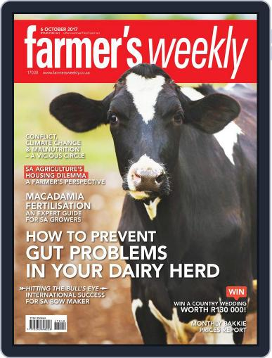 Farmer's Weekly (Digital) October 6th, 2017 Issue Cover