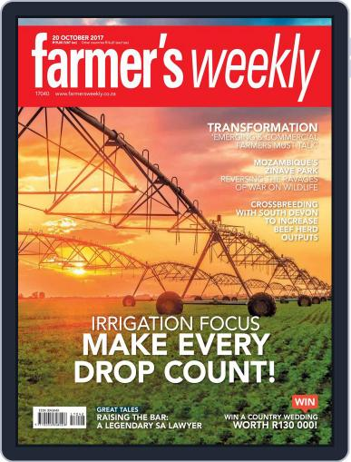Farmer's Weekly October 20th, 2017 Digital Back Issue Cover