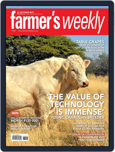 Farmer's Weekly (Digital) October 27th, 2017 Issue Cover