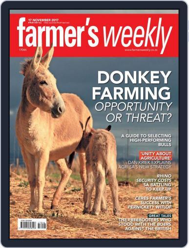 Farmer's Weekly (Digital) November 17th, 2017 Issue Cover