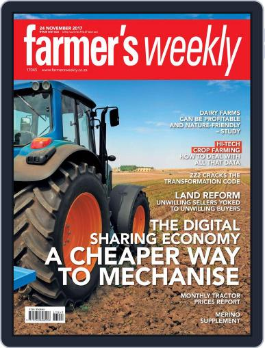 Farmer's Weekly November 24th, 2017 Digital Back Issue Cover