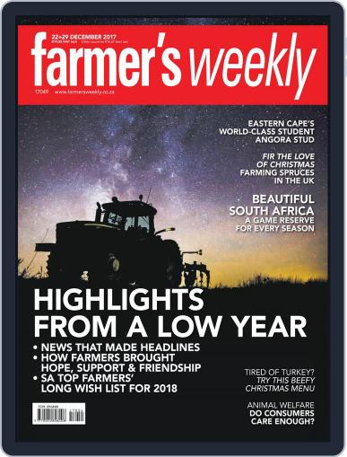 Farmer's Weekly December 29th, 2017 Digital Back Issue Cover