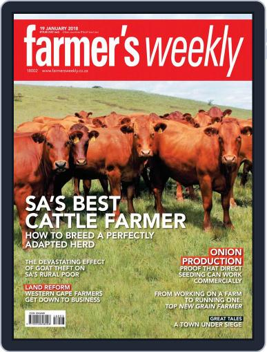 Farmer's Weekly January 19th, 2018 Digital Back Issue Cover