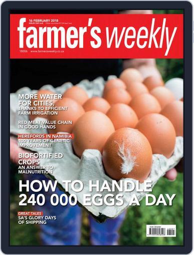 Farmer's Weekly (Digital) February 16th, 2018 Issue Cover