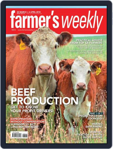 Farmer's Weekly (Digital) March 30th, 2018 Issue Cover