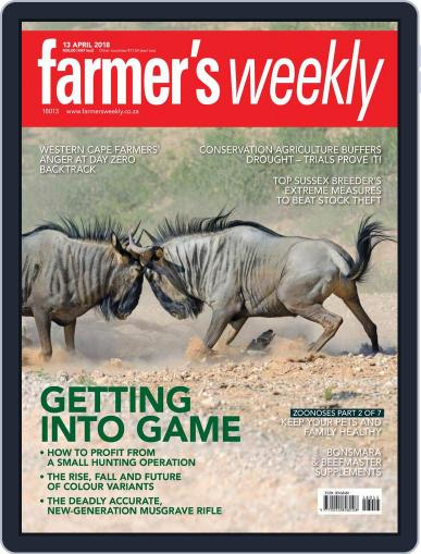 Farmer's Weekly April 13th, 2018 Digital Back Issue Cover