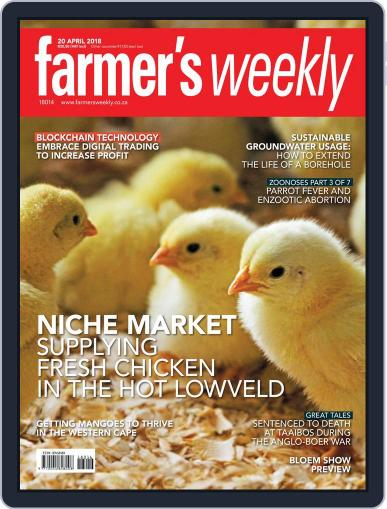Farmer's Weekly April 20th, 2018 Digital Back Issue Cover