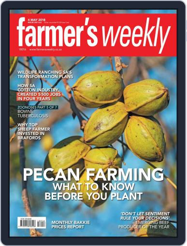 Farmer's Weekly (Digital) May 4th, 2018 Issue Cover