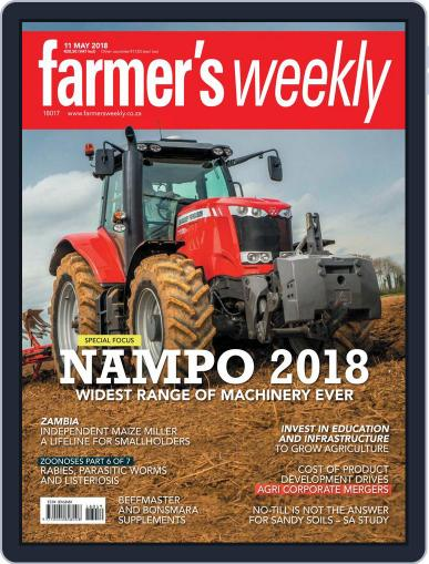 Farmer's Weekly May 11th, 2018 Digital Back Issue Cover