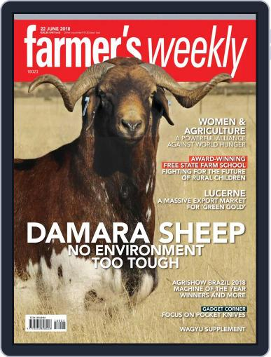 Farmer's Weekly (Digital) June 22nd, 2018 Issue Cover