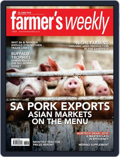 Farmer's Weekly (Digital) June 29th, 2018 Issue Cover