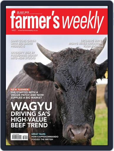 Farmer's Weekly (Digital) July 20th, 2018 Issue Cover