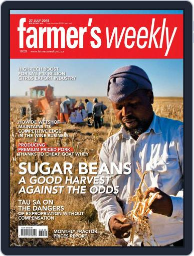 Farmer's Weekly (Digital) July 27th, 2018 Issue Cover