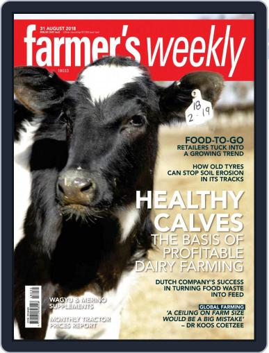 Farmer's Weekly August 31st, 2018 Digital Back Issue Cover