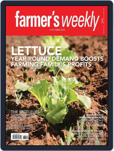 Farmer's Weekly (Digital) October 5th, 2018 Issue Cover