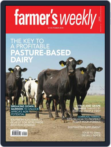 Farmer's Weekly (Digital) October 12th, 2018 Issue Cover