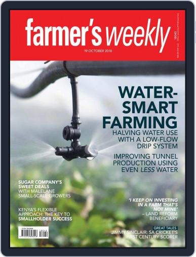 Farmer's Weekly (Digital) October 19th, 2018 Issue Cover
