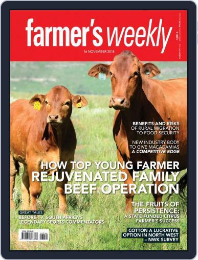 Farmer's Weekly (Digital) November 16th, 2018 Issue Cover