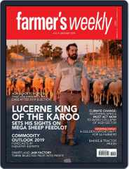 Farmer's Weekly (Digital) Subscription January 4th, 2019 Issue