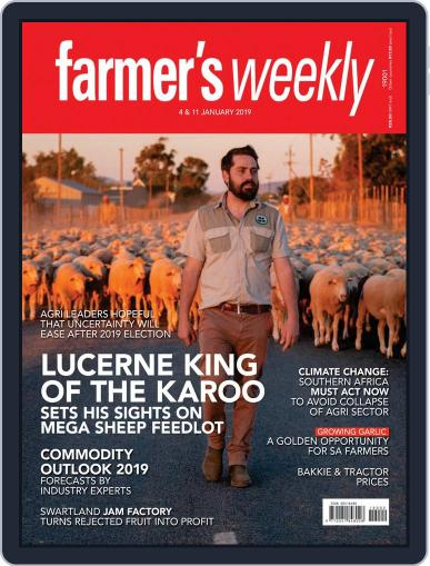 Farmer's Weekly (Digital) January 4th, 2019 Issue Cover
