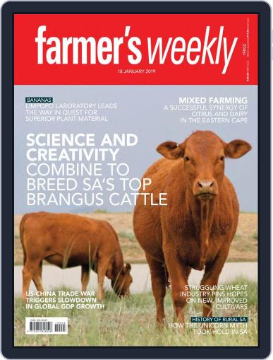 Farmer's Weekly (Digital) January 18th, 2019 Issue Cover