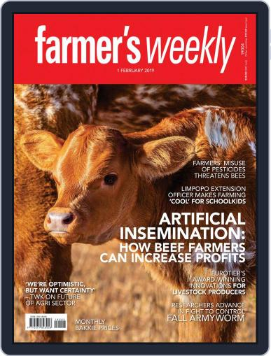 Farmer's Weekly (Digital) February 1st, 2019 Issue Cover