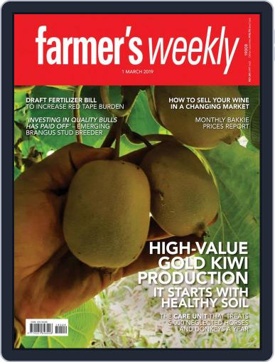 Farmer's Weekly (Digital) March 1st, 2019 Issue Cover