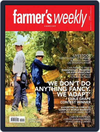 Farmer's Weekly March 8th, 2019 Digital Back Issue Cover
