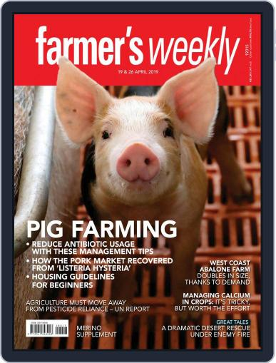 Farmer's Weekly (Digital) April 19th, 2019 Issue Cover