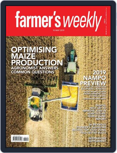 Farmer's Weekly (Digital) May 10th, 2019 Issue Cover