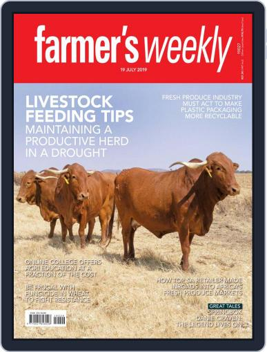 Farmer's Weekly July 19th, 2019 Digital Back Issue Cover
