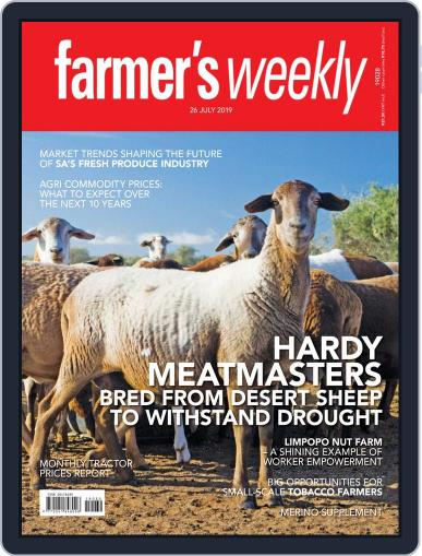 Farmer's Weekly July 26th, 2019 Digital Back Issue Cover