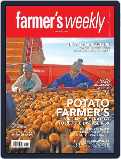 Farmer's Weekly (Digital) August 2nd, 2019 Issue Cover