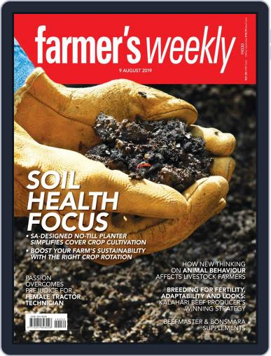 Farmer's Weekly August 9th, 2019 Digital Back Issue Cover