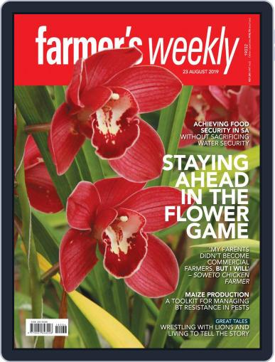 Farmer's Weekly (Digital) August 23rd, 2019 Issue Cover