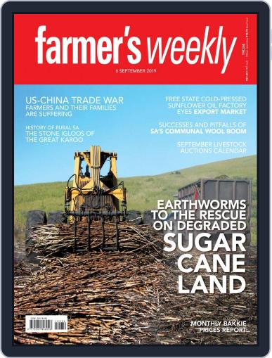 Farmer's Weekly (Digital) September 6th, 2019 Issue Cover