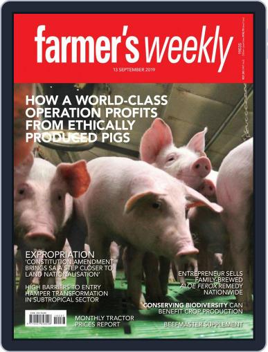 Farmer's Weekly September 13th, 2019 Digital Back Issue Cover
