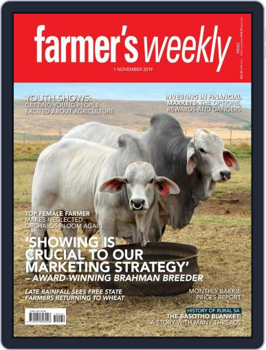 Farmer's Weekly (Digital) November 1st, 2019 Issue Cover