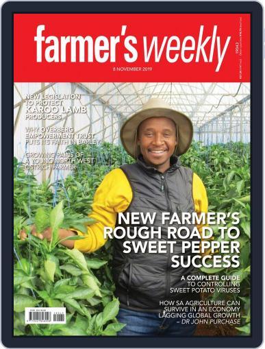 Farmer's Weekly (Digital) November 8th, 2019 Issue Cover