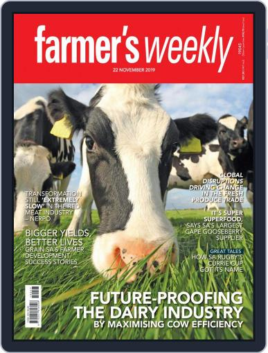 Farmer's Weekly (Digital) November 22nd, 2019 Issue Cover