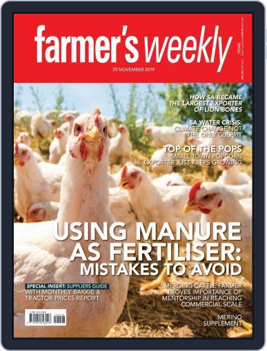 Farmer's Weekly November 29th, 2019 Digital Back Issue Cover