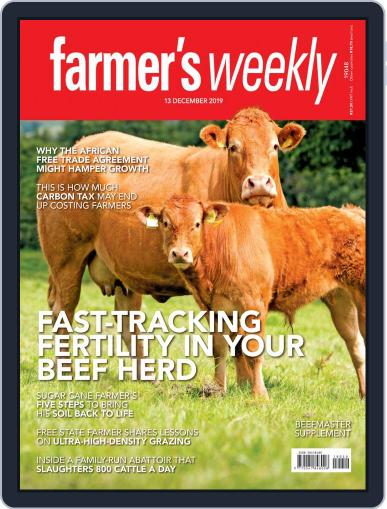 Farmer's Weekly (Digital) December 13th, 2019 Issue Cover