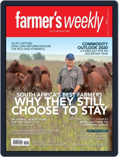 Farmer's Weekly January 3rd, 2020 Digital Back Issue Cover